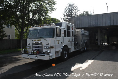 New Haven CT Engine 9 & Squad 2