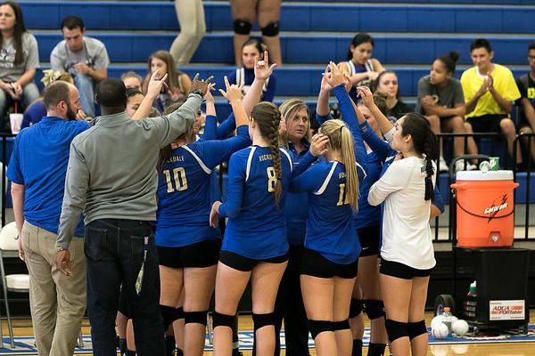 Rockdale Volleyball Varsity v Academy