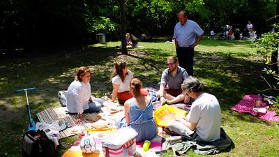 Kev & Karen Holland Park Picnic July 2020