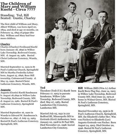 Kuehl - History 2016