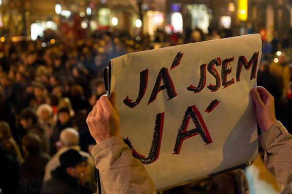 Demonstrace Václavák 17. 11. 2010