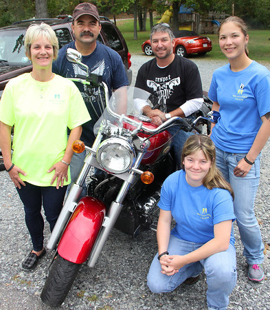 Ride With Pride, In Memory of Christina, Rod and Gun Club, West Penn (9-21-2013)