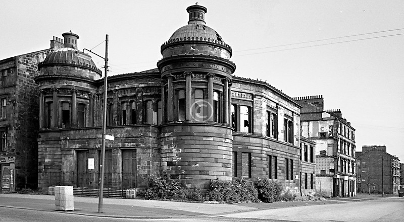 St Columba's, corner of Govan Rd and Copland Rd.   June 1975