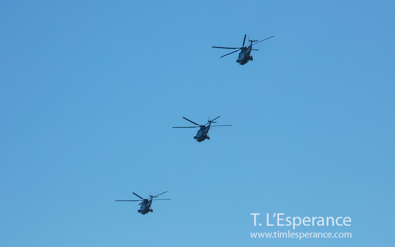 Sea King Final Fly Past