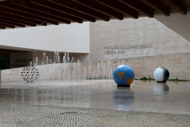 Pavilhão do Conhecimento. Parque das Nações, Lisbon