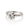 2.03ct Art Deco Transitional Cut Diamond Solitaire 1