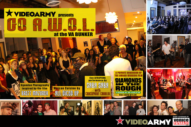 04.02.10  VIDEO ARMY GOES AWOL ON FIRST FRIDAYS.  PART TWO