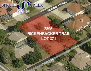 2895 Rickenbacker Trail | Taxiway Lot in Spruce Creek Fly-In