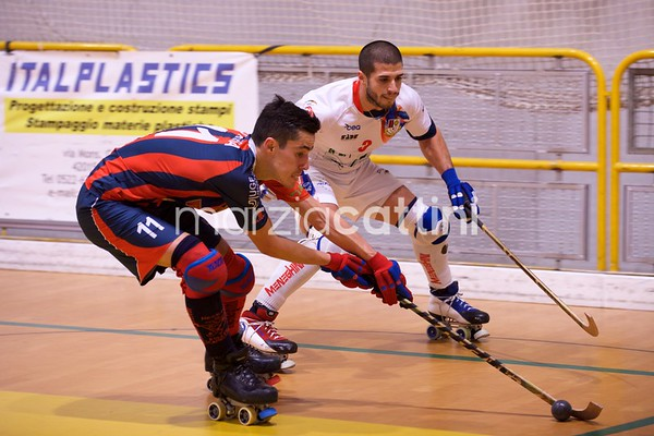 Correggio Hockey  vs Roller Hockey Scandiano