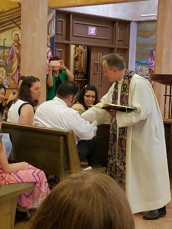 Samual's Baptism June 24, 2017