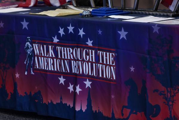 MHES Stone's 5th Gr Walk Through American Revolution