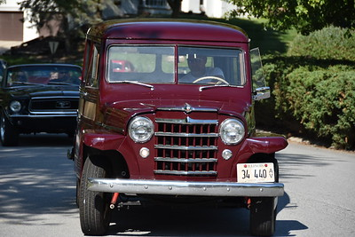 Shorewood Forest Valparaiso classic car parade 2020