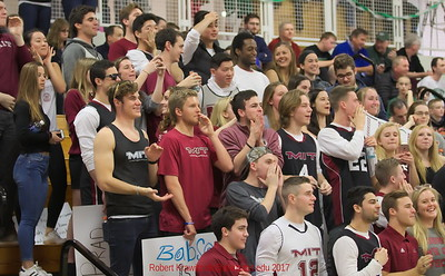 MIT-Babson Men's Basketball Feb. 18, 2017