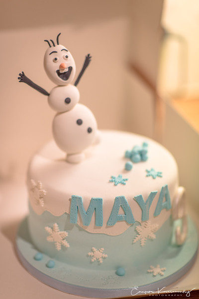 Maya 3rd Birthday Archive Images