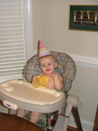 Hannah is one year old!!