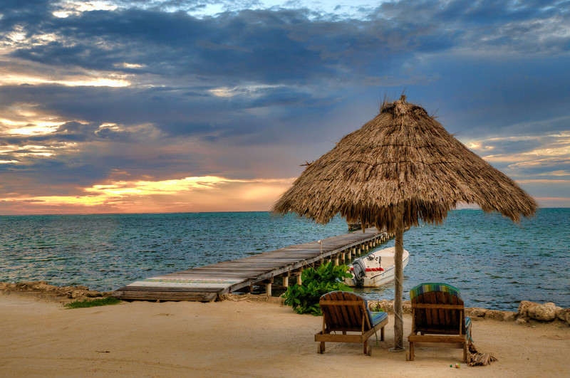 The view from Xanadu Resort.