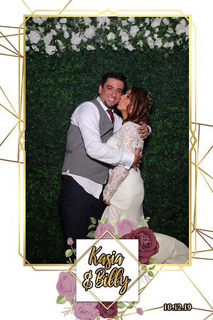 Katarzyna and Billy's Wedding Mirror Booth 2019