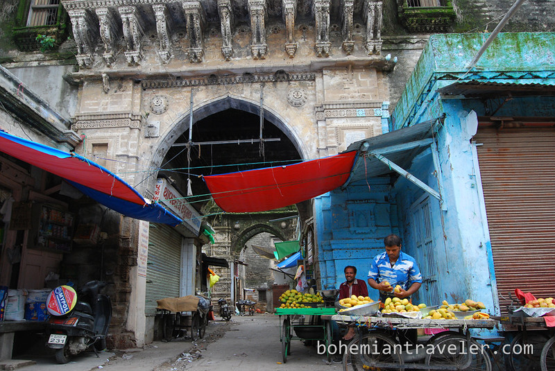 entrance to the old fruit market in Junagadh.jpg