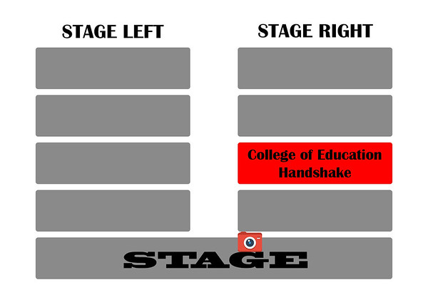 College of education stage right