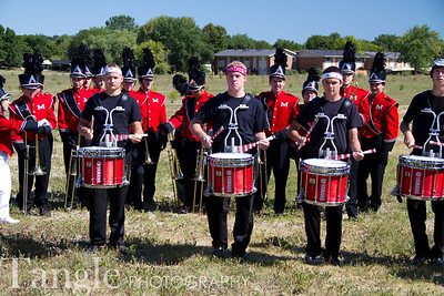 Marching Band - Muskego Festival Parade (2011-8-28)