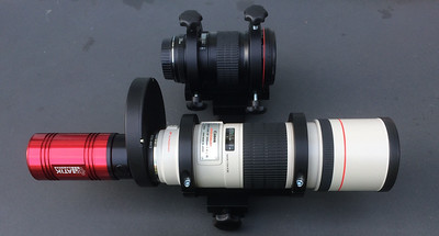 ICX814-based CCD on Canon via filter wheel