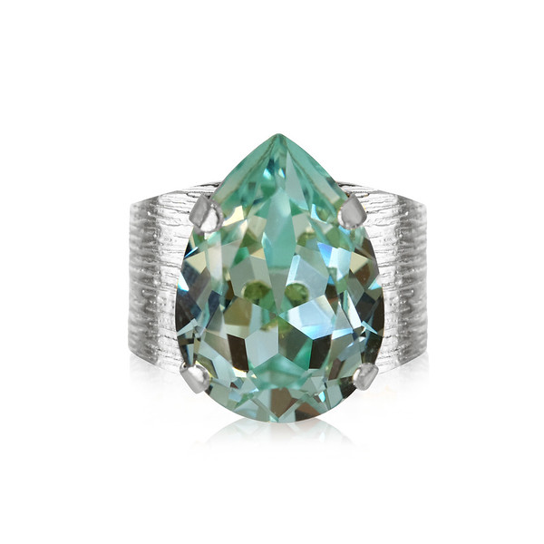 Classic Drop Ring : Chrysolite .jpg