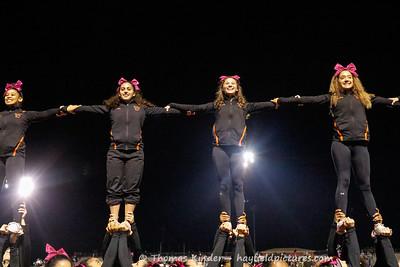 Varsity Cheer 10/12/18 at TC Williams Football Game