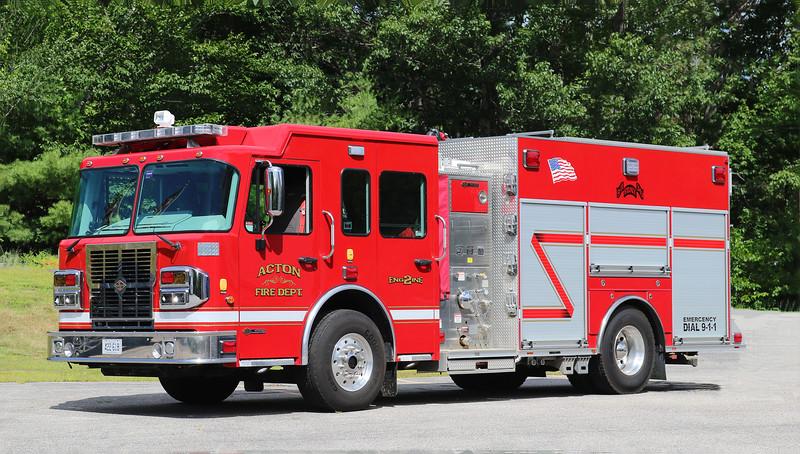 Engine 2 .  2013 Spartan Metro Star .  1250 / 1000