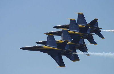 2004 Jones Beach Air Show - Featuring Navy Blue Angels
