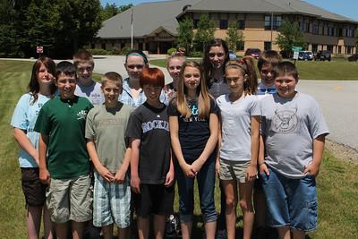2012 Hebron 6th Grade Class Pic