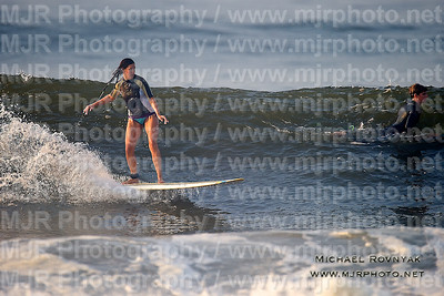 Surfing, L.B. West, NY, 08-26-11