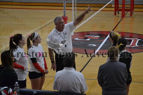 10-12 Creston Harlan volleyball