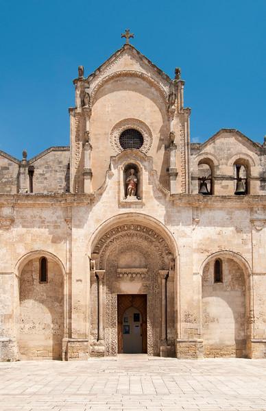 Church of San Giovanni Battista, Matera, Italy