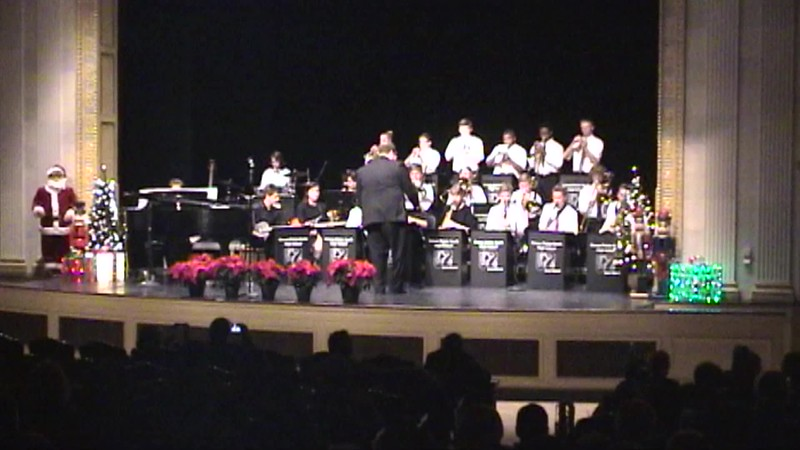 Jazz Band - Yule Be Boppin' - 9th Grade.mp4