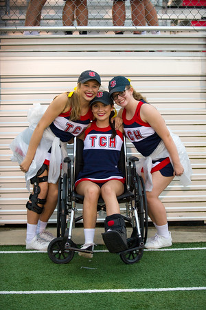 2016 TCH Cheerleaders & Danceteam At Notre Dame