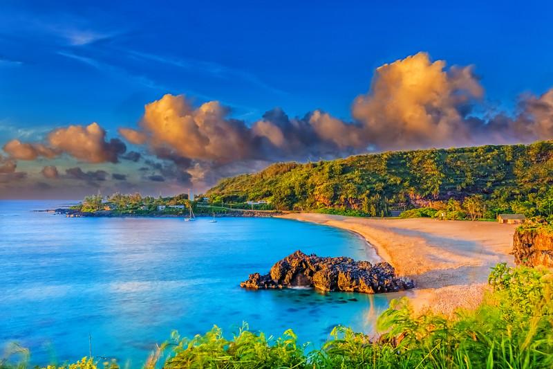 Waimea Bay Oahu, Hawaii
