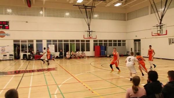 Holy Trinity vs Holy Heart - Round Robin Basketball - 815pm Friday April 7