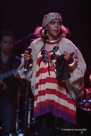 Lauryn Hill Atlanta 2011