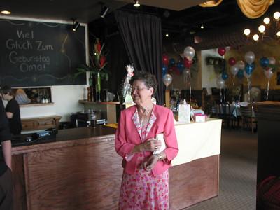 2005 Oma's 80th Birthday