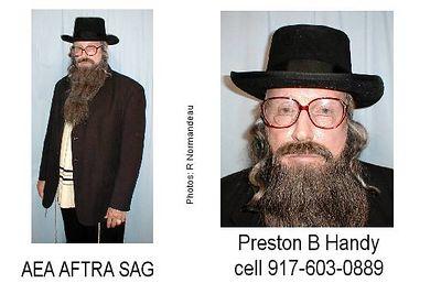 Preston Handy 917-603-0889, 347-922-4600