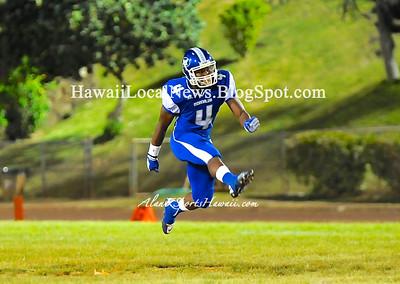 """08-17-12 Moanalua Na Menehune Varsity """"vs"""" Waianae Searaiders (17-26)"""