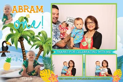 Abram's 1st Birthday