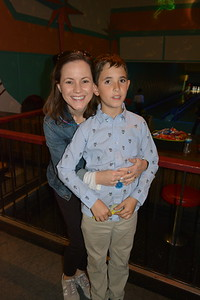 PCR Moms and Sons Go Bowling