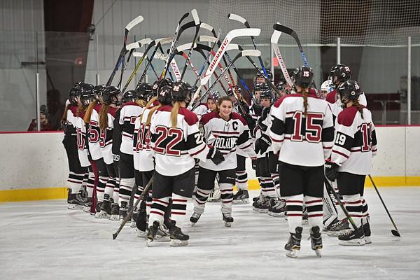 NP Hockey Senior Night 17-18
