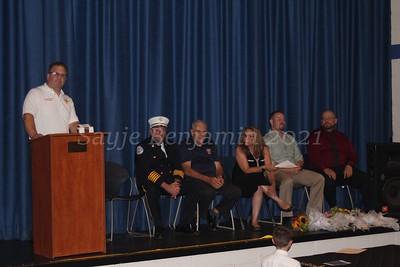 Seymour Fire Department Promotions & Citations - 8/16/2021