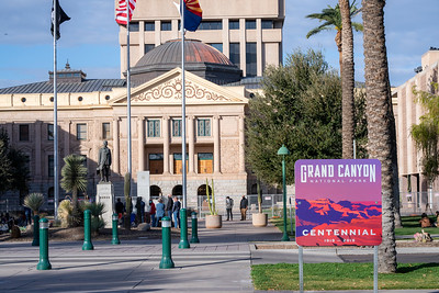 Protest of Biden Inauguration at AZ State Capitol, 2021-01-20