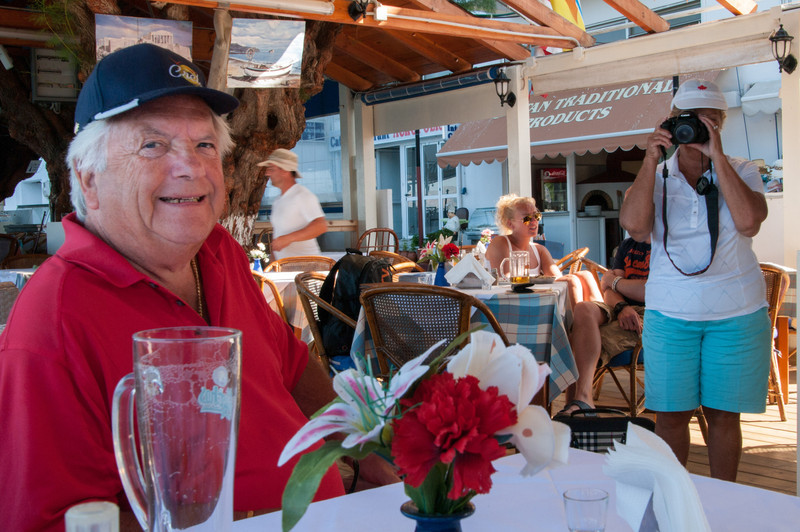 """Lunch and a beer (or 2) at one of the """"many"""" excellent restaurants along the seafront."""