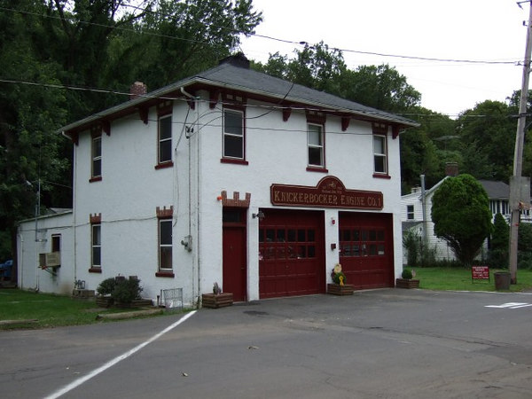 Country firehouse.