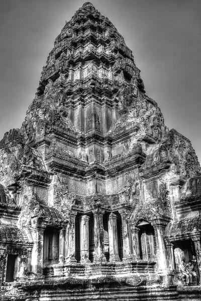 """""""Lotus bud"""" tower at Angkor Wat"""