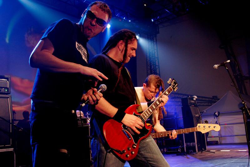 Punkreas band, Vicenza, Italy, 2006